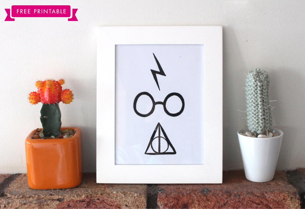 Free Printable Harry Potter Print