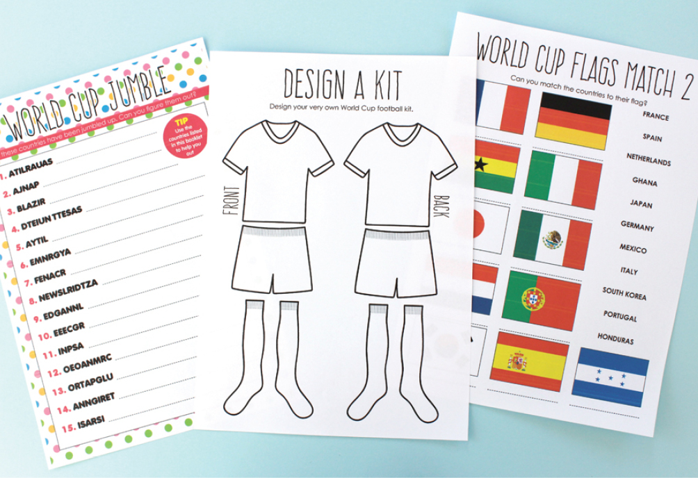 e307bc33969 Free Printable  World Cup 2014 Activity Book