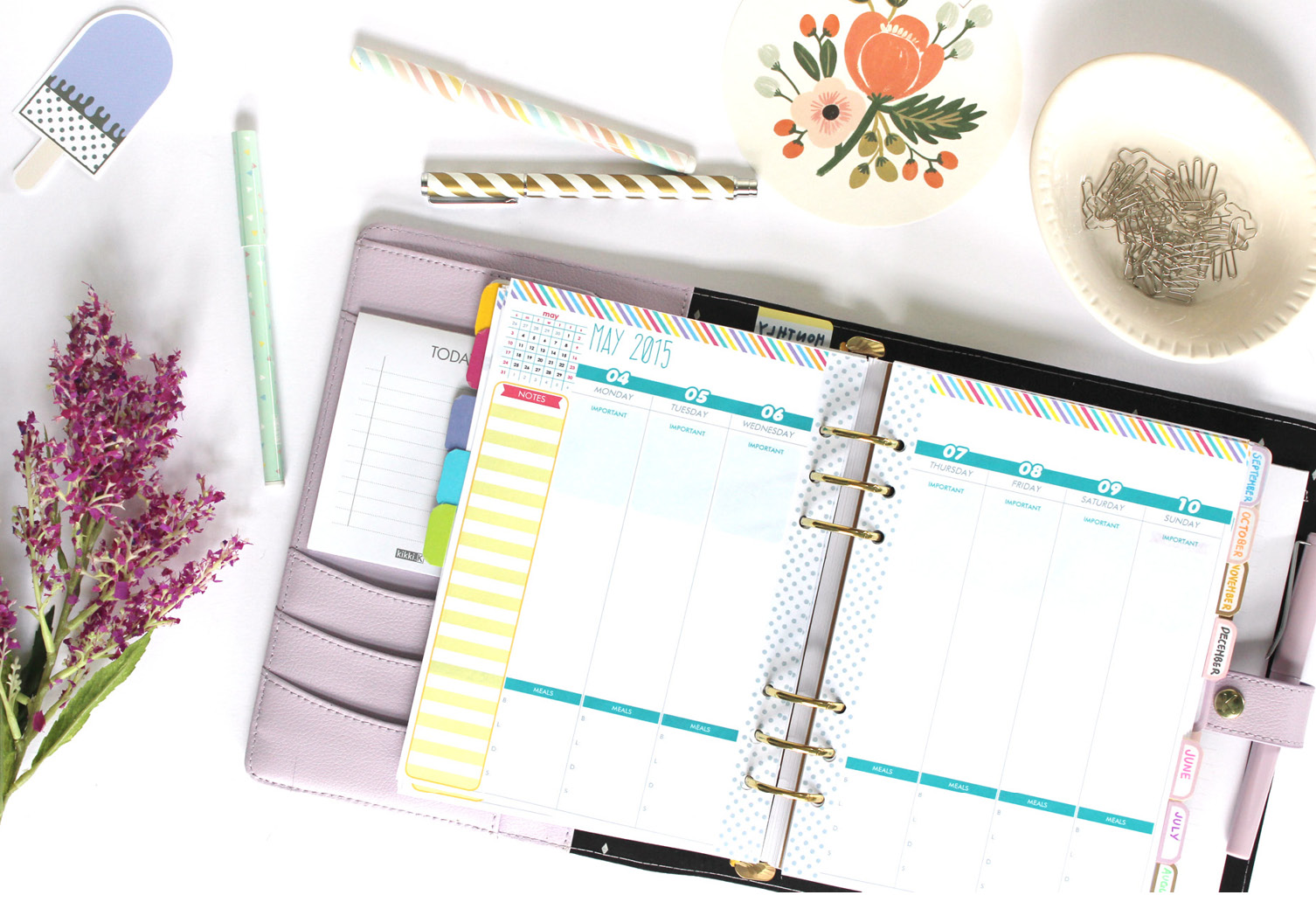 2015 Daily Planner Printable