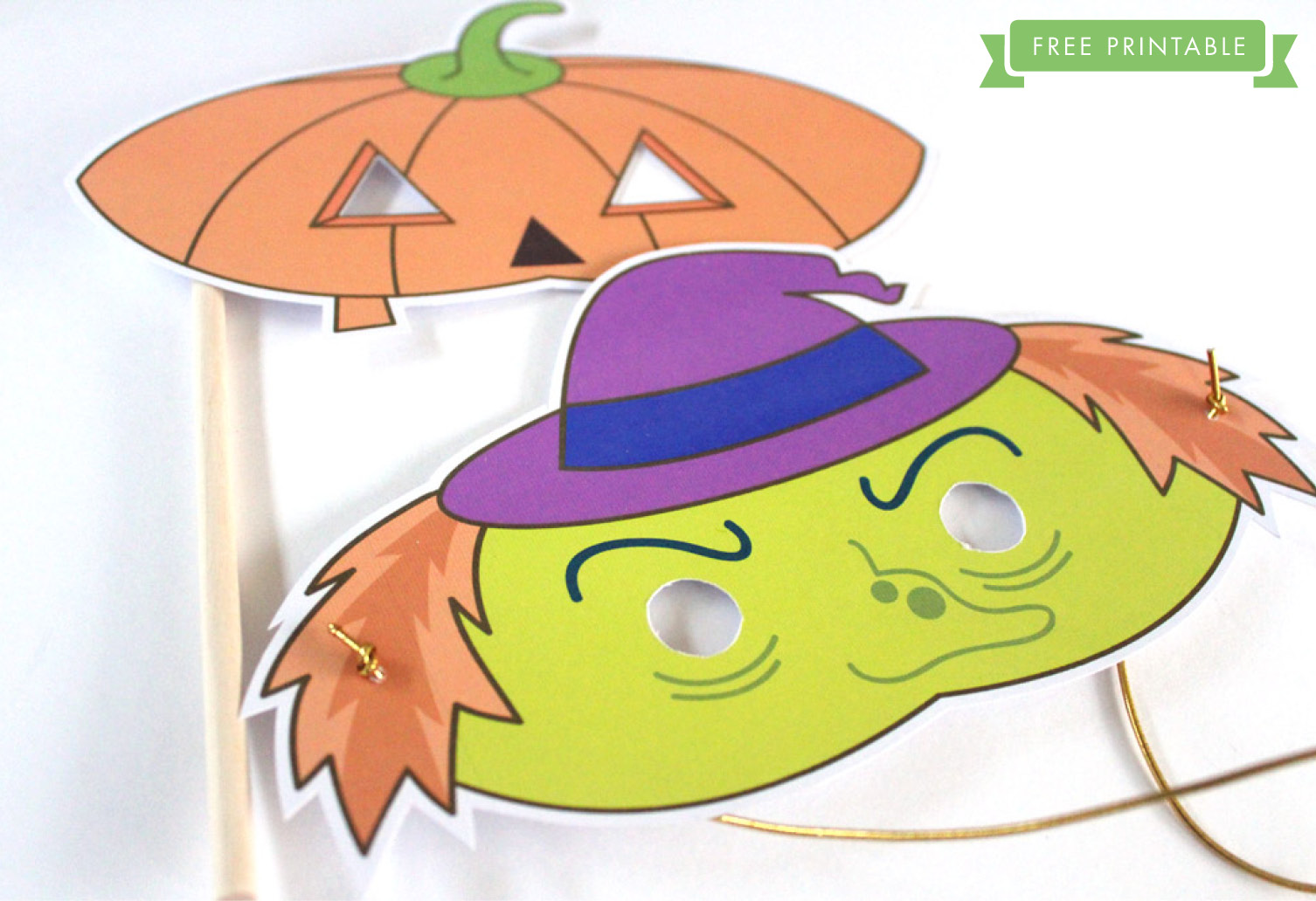photograph relating to Free Printable Halloween Masks identified as Free of charge Printable: Halloween Small children Masks