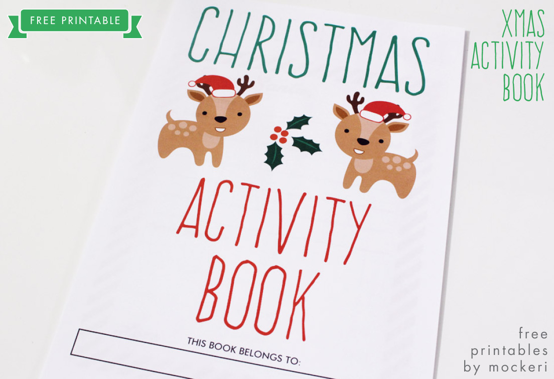 picture relating to Printable Activity Books called Free of charge Printable: Xmas Recreation E-book