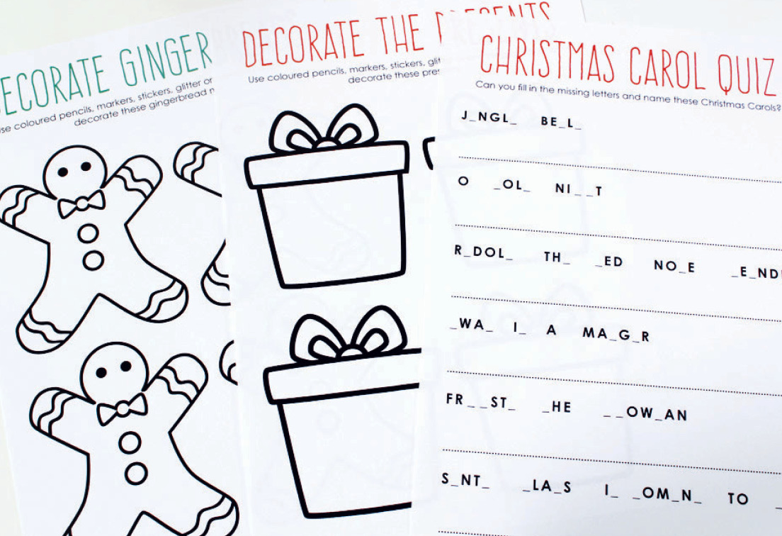 photo about Printable Christmas Carols Booklet referred to as Totally free Printable: Xmas Match E book