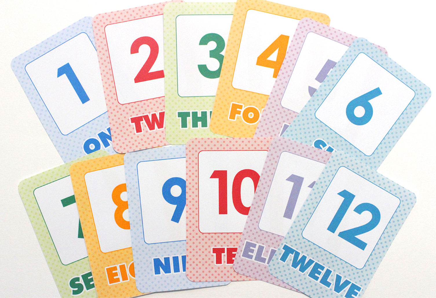 image about Printable Number Flashcards titled No cost Printable: Easy Range Flash Playing cards