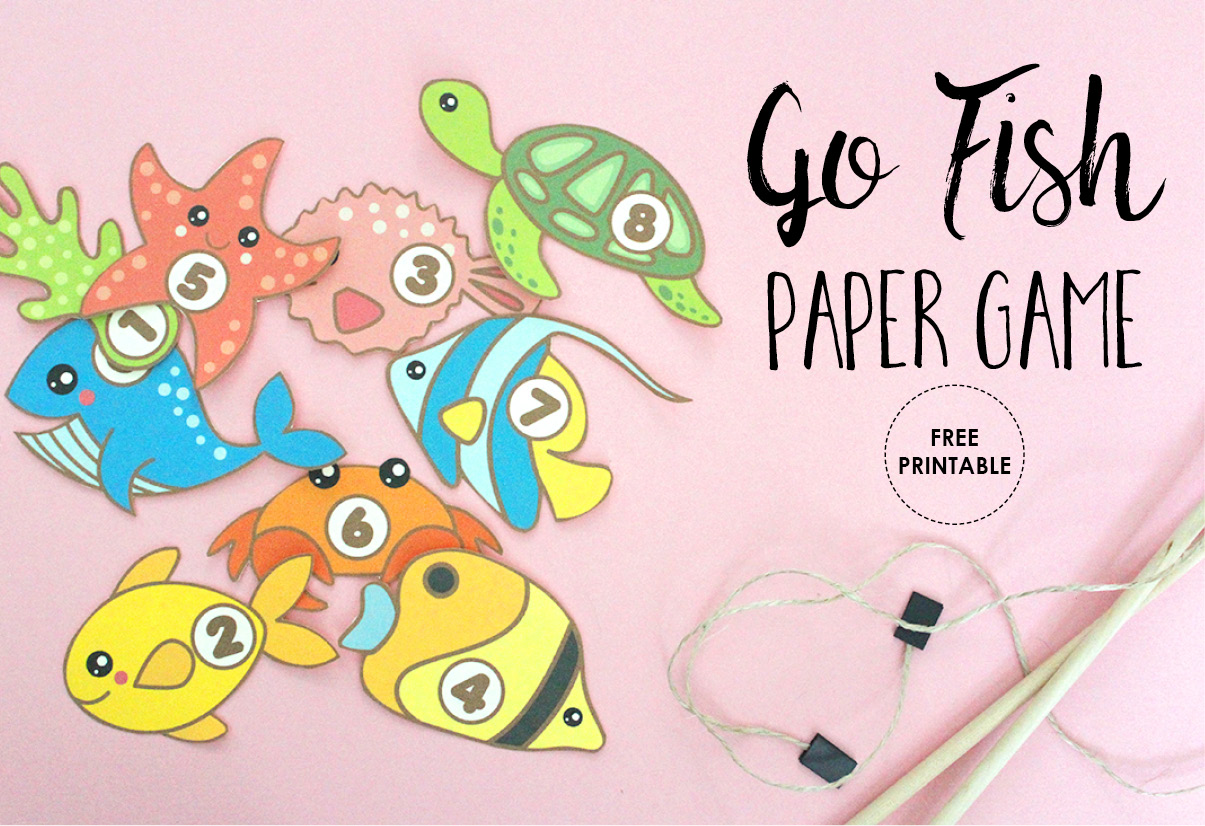free printable fishing game - Printable Fish Pictures