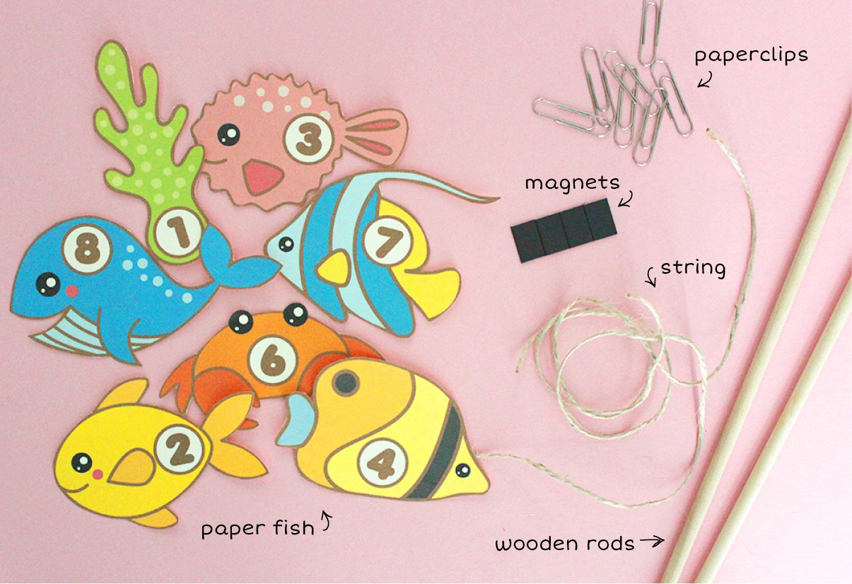 photo regarding Printable Fishing named Totally free Printable: Fishing Match